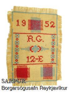 Prufa, Skólahandavinna, Textíll