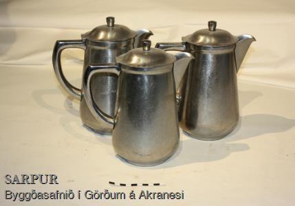 Kaffikanna, Kanna með loki