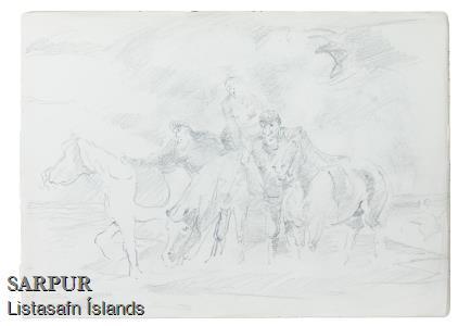 Beisli, Hestur, Hnakkur, MaðurBeisli, Hestur, Hnakkur, Maður