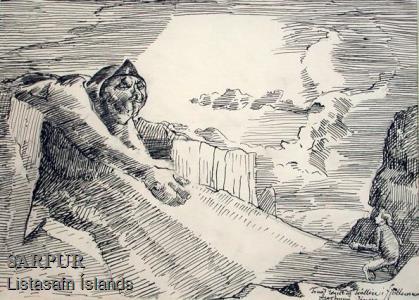 Fjall, Piltur, Ský, Tröll, ÞjóðsagaFjall, Piltur, Ský, Tröll, Þjóðsaga