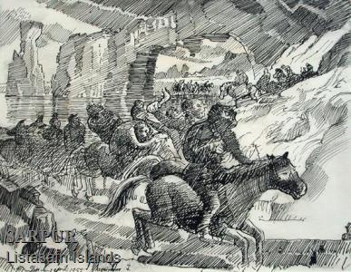 Hestur, Klettur, Tröll, ÞjóðsagaHestur, Klettur, Tröll, Þjóðsaga