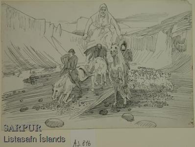 Hestur, Maður, Sauðfé, Tröllskessa Hestur, Maður, Sauðfé, Tröllskessa